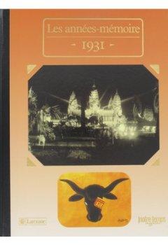 Livres Couvertures de Les Années-mémoire Année 1931