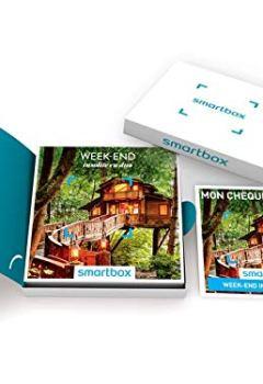 Livres Couvertures de SMARTBOX - Week-end insolite en duo - Coffret cadeau couple - À choisir parmi 3310 séjours en yourte, roulotte, tipi, cabane et maison d'hôtes. Offrez une nuit avec petit-déjeuner pour 2 personnes