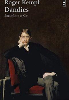 Livres Couvertures de Dandies. Baudelaire et Cie