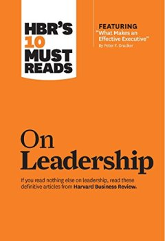 Livres Couvertures de HBR's 10 Must Reads on Leadership (with featured article