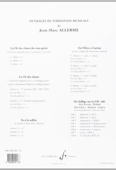 Livres Couvertures de Du solfège sur la F.M. 440.2 : Lecture / rythme