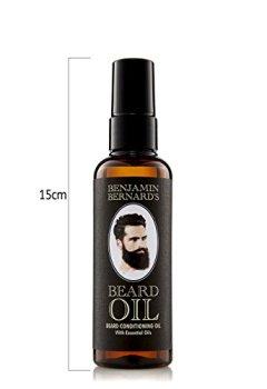 Livres Couvertures de Huile Et Hydratant Pour Barbe/Beard Oil - Benjamin Bernard - 100 ml