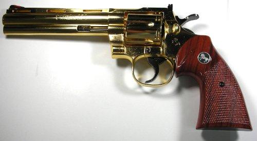 コクサイ 金属発火モデルガン コルトパイソン 357マグナム 6インチ No.359