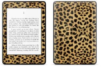Amazon Kindle Paperwhite スキンシール アニマル ヒョウ柄 (No.015-kpw)