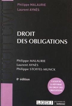 Livres Couvertures de Droit des obligations