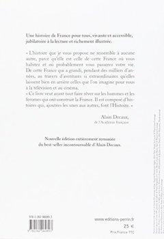 Livres Couvertures de Alain Decaux raconte l'histoire de France