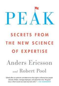 Livres Couvertures de Peak: Secrets from the New Science of Expertise