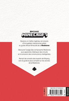 Livres Couvertures de Minecraft, le guide Redstone