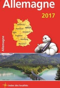 Livres Couvertures de Carte Allemagne Michelin 2017