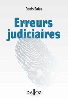 Livres Couvertures de Les erreurs judiciaires - 1ère édition