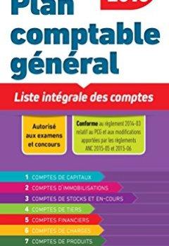 Livres Couvertures de Plan comptable général 2017/2018 - Liste intégrale des comptes