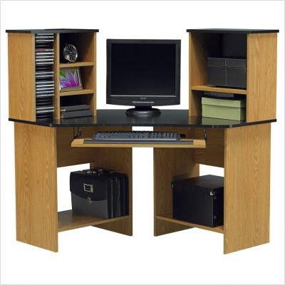 Picture of Comfortable Ameriwood Corner Computer Desk (B001G5ZZAI) (Computer Desks)