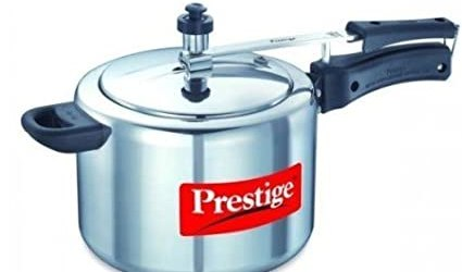 Prestige Nakshatra Plus Induction Base Aluminium Pressure Cooker