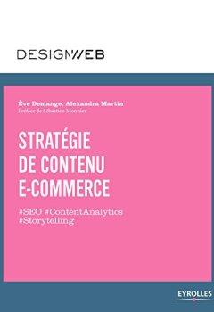 Livres Couvertures de Stratégie de contenu e-commerce