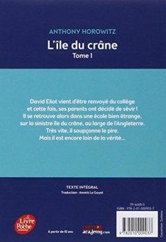 Livres Couvertures de David Eliot - Tome 1 - L'île du crâne