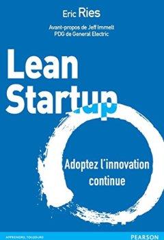 Livres Couvertures de Lean Startup: Adoptez l'innovation continue