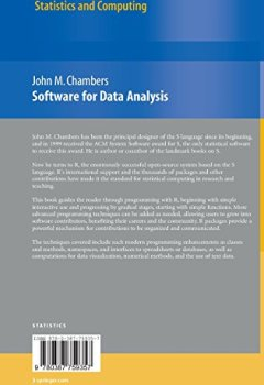 Livres Couvertures de Software for Data Analysis : Programming with R