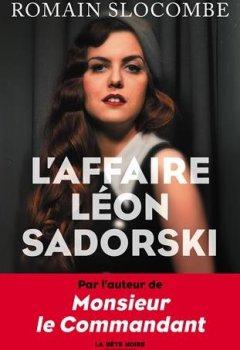 Livres Couvertures de L'Affaire Léon Sadorski