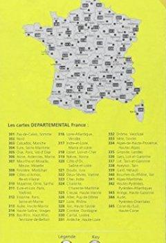 Livres Couvertures de Carte Cantal, Lozère Michelin