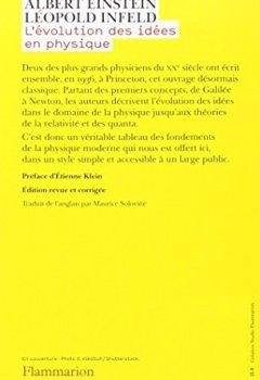 Livres Couvertures de L'évolution des idées en physique