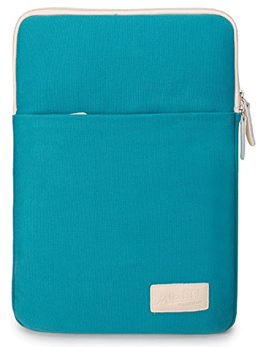 Mikelala-Blue-Color-Laptop-Sleeve-13-Inch-with-Pocket-for-Macbook-Air-13-Macbook-Pro-13-and-133-Inch-Laptop-Case-Bag