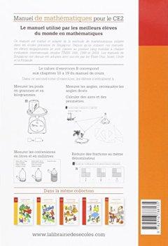 Livres Couvertures de Manuel de mathématiques CE2 : Cahier d'exercices B