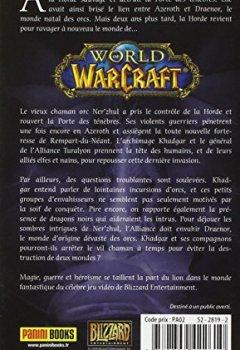 Livres Couvertures de World of Warcraft : Au-delà de la Porte des ténèbres