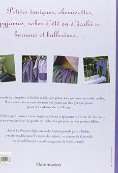 Livres Couvertures de Intemporels pour enfants : Modèles et patrons de 2 à 8 ans