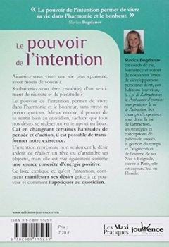 Livres Couvertures de Le pouvoir de l'intention : Une énergie puissante pour réussir