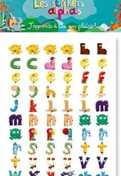 Livres Couvertures de Stickers Alphas (les)