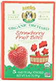Annie's Homegrown Orchard Strawberry Organic Fruit Bites, .63-Ounce packages, 5 Count  (Pack of 4)