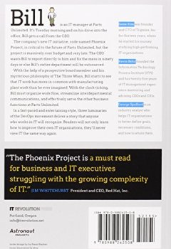 Livres Couvertures de The Phoenix Project: A Novel About IT, DevOps, and Helping Your Business Win