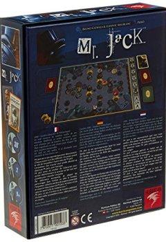 Livres Couvertures de Asmodee - MJA01 - Jeu de stratégie - Mr. Jack