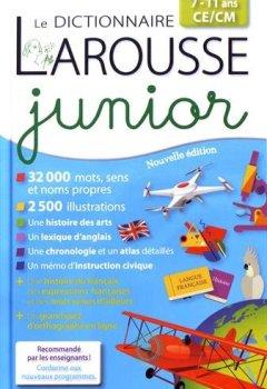 Livres Couvertures de Dictionnaire Larousse junior : 7/11 ans, CE/CM