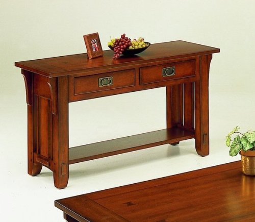 Image of Arts and Craft Collection Occasional Console Sofa Table (VF_HE749-05)