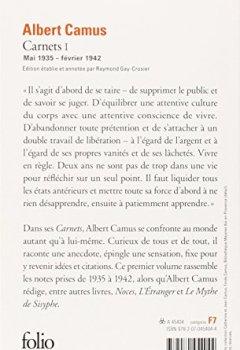 Livres Couvertures de Carnets (Tome 1-Mai 1935 - février 1942)