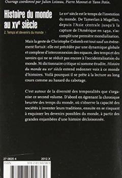 Livres Couvertures de Histoire du monde au XVe siècle, tome 2: Temps et devenirs du monde
