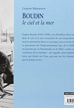 Livres Couvertures de Boudin : Le Ciel et la Mer