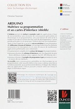 Livres Couvertures de Arduino - 2e éd. - Maîtrisez sa programmation et ses cartes d'interface (shields)