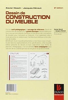 Livres Couvertures de Dessin de construction du meuble - 2e ed.