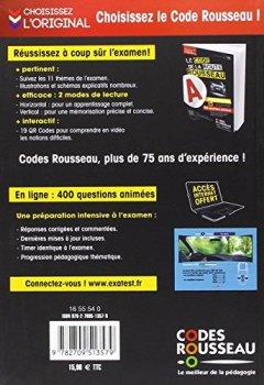 Livres Couvertures de Code Rousseau de la Route B 2016