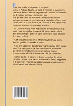 Livres Couvertures de Cuisine des grands mères Pied Noir, nouvelle édition