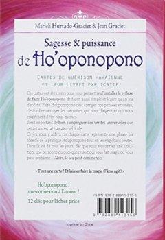 Livres Couvertures de Sagesse et puissance de Ho'oponopono