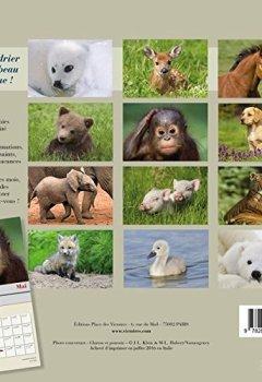 Livres Couvertures de Bébés Animaux, calendrier 2017