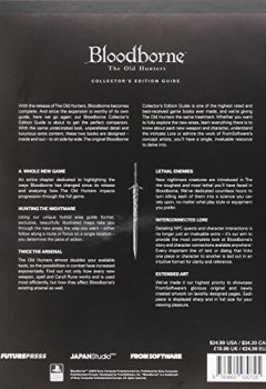 Livres Couvertures de Bloodborne the Old Hunters Collector's Edition Guide