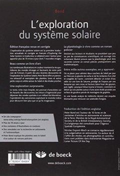 Livres Couvertures de L'Exploration du Systeme Solaire