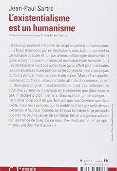 Livres Couvertures de L'existentialisme est un humanisme
