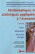 Mathématiques et statistiques appliquées à l'économie