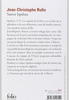 Livres Couvertures de Sauver Ispahan