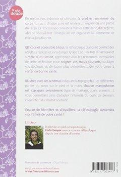 Livres Couvertures de La réflexologie au quotidien : 100 massages plantaires pour être bien